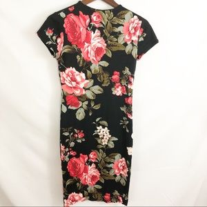 A'gaci Agaci flower print maxi dress size medium M
